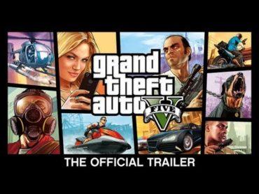 'Grand Theft Auto V' Official Trailer (Video)