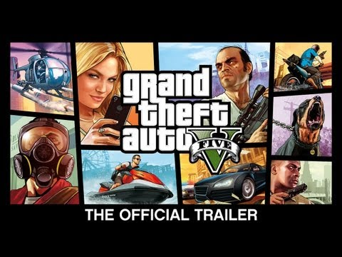 'Grand Theft Auto V' Official Trailer (Video)