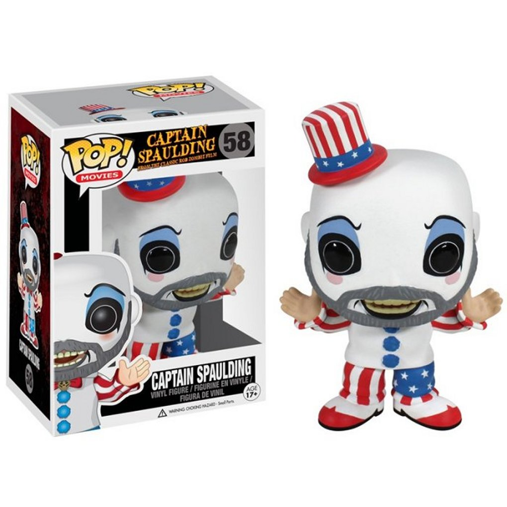 Funko Pop! Vinyl Captain Spaulding