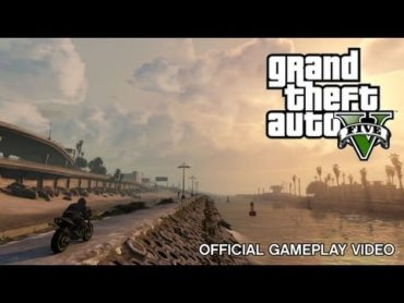 Grand Theft Auto V: Official Gameplay (Video)