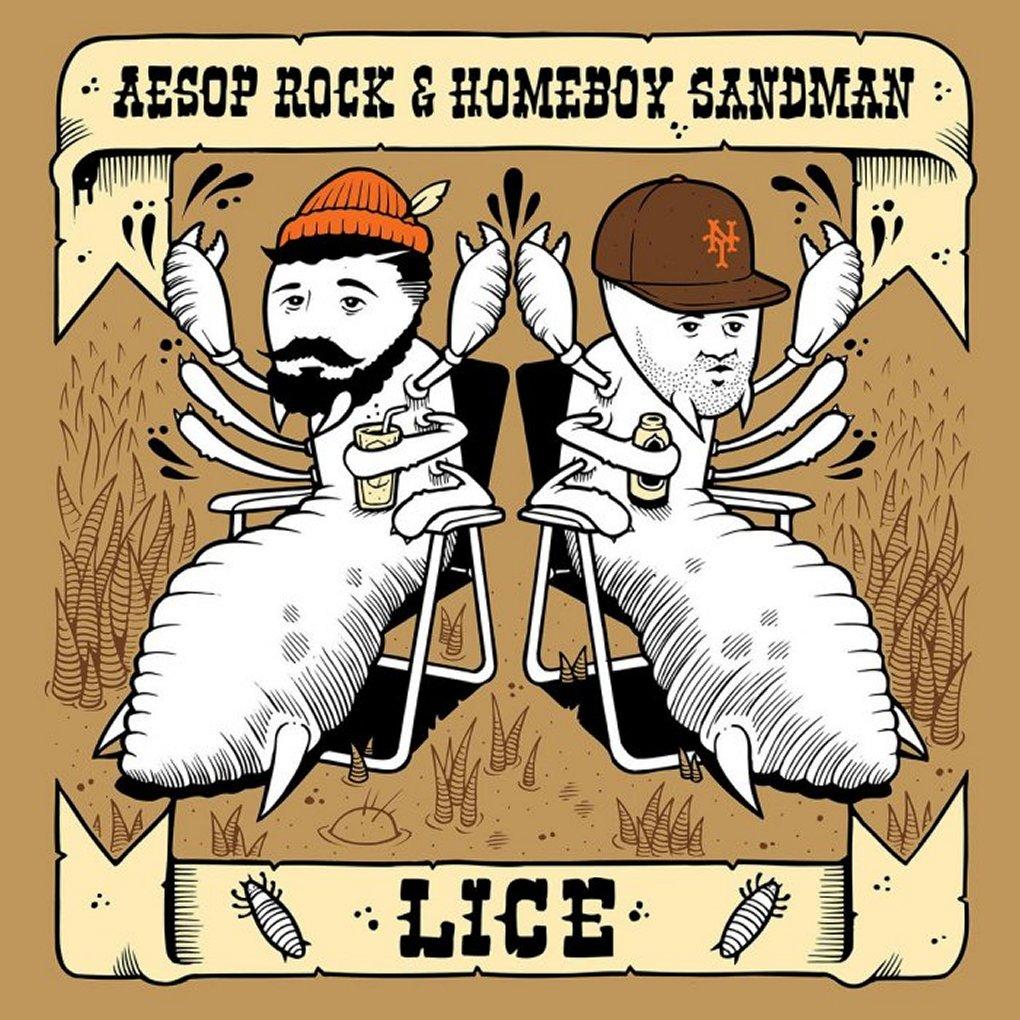 Aesop Rock & Homeboy Sandman - Lice